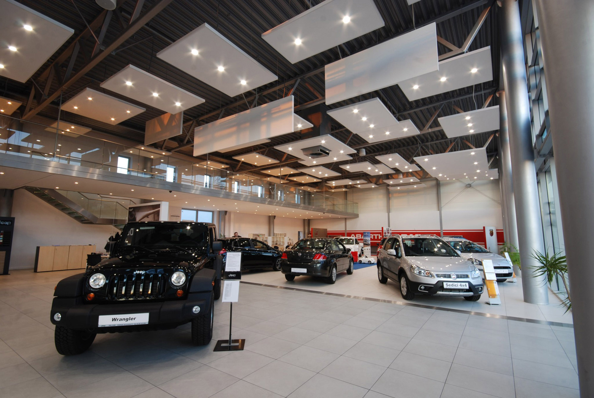 Salon Fiat + Jeep, Poznań