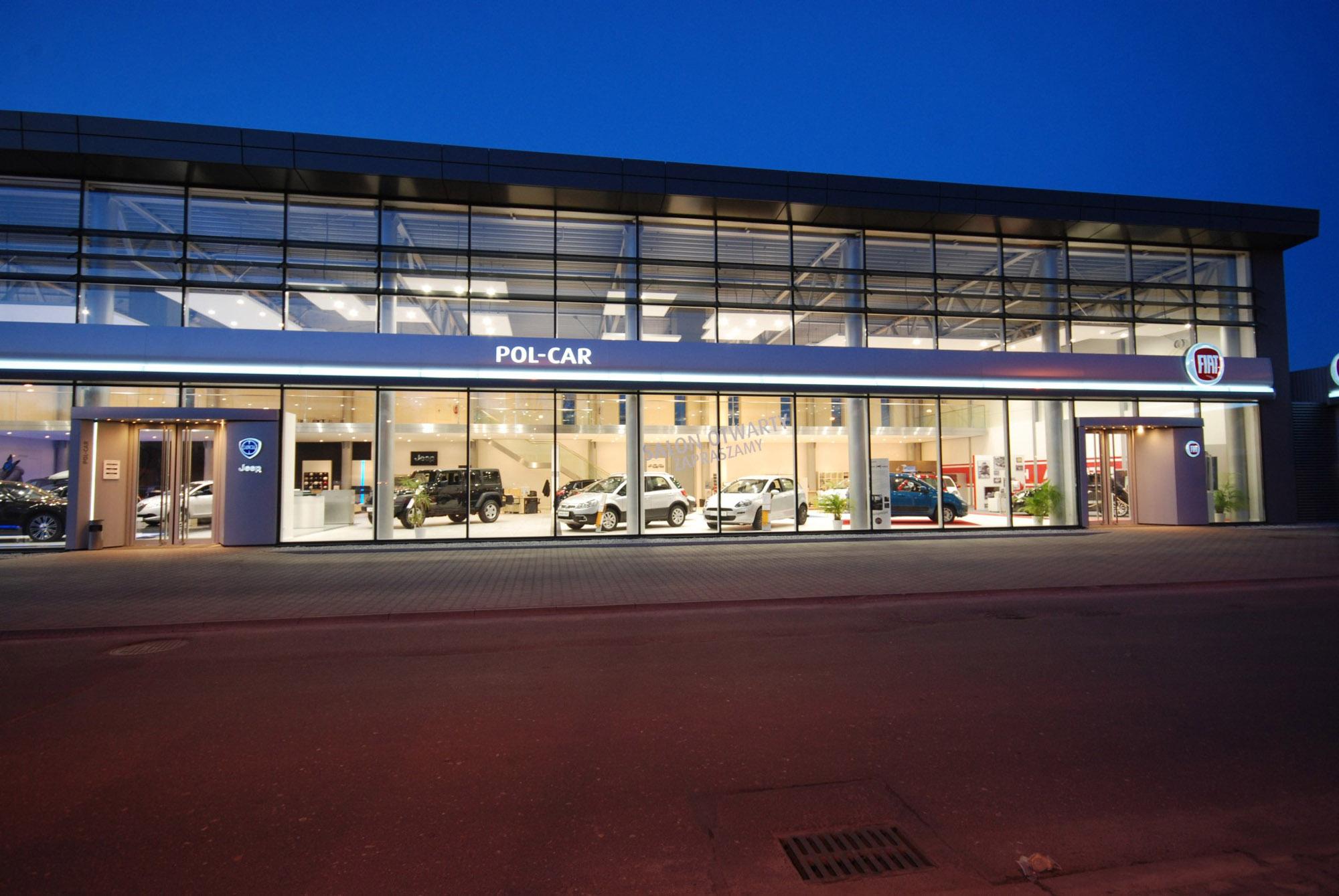 Salon Fiat + Jeep, Poznań