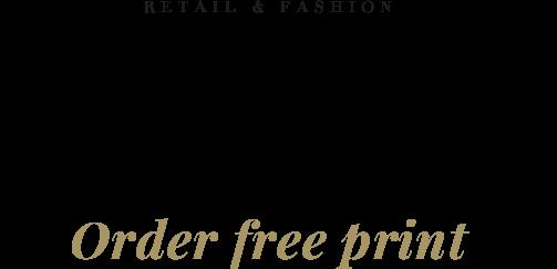 Retail & Fashion. El nuevo catálogo ya está disponible. Pídalo gratis